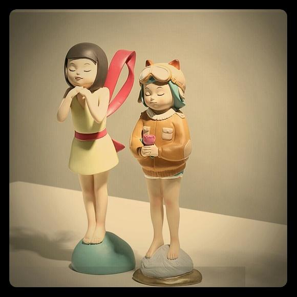 Creative Thinking Girl Decoration
